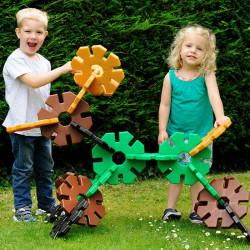 Octoplay Gigante set de 20 piezas colores naturales - juguete de construcción