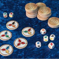 Pescado - juego de dados y estrategia para 2-4 jugadores