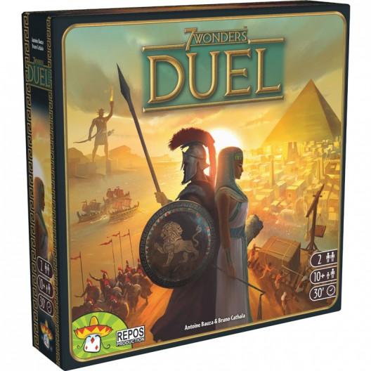 7 Wonders Duel - juego de cartas estratégico para dos jugadores