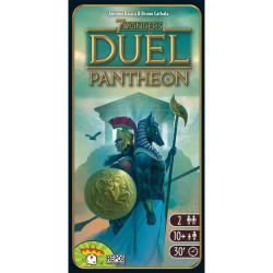 7 Wonders Duel Pantheon Expansión -  juego de cartas estratégico para dos jugadores