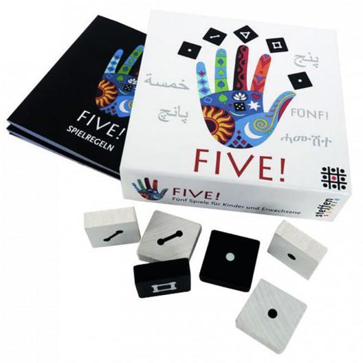 FIVE! - colección de 5 juegos solidarios para toda la familia
