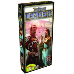7 Wonders Leaders - Expansión del juego de mesa estratégico para toda la familia