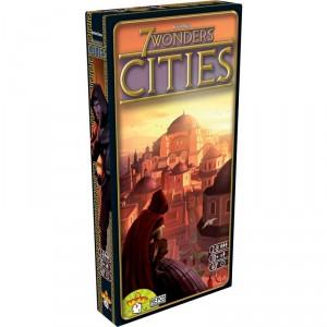 7 Wonders Cities - Expansión del juego de mesa estratégico para toda la familia