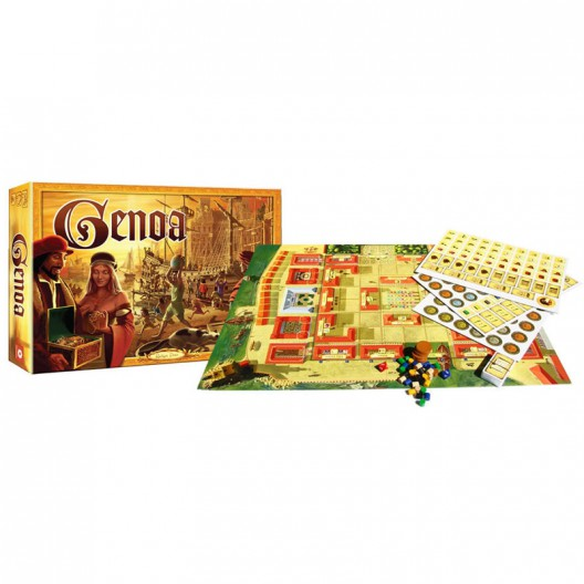 Los mercaderes de Génova - juego de mesa estratégico - últimas unidades