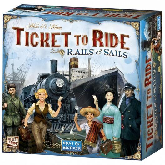 ¡Aventureros al tren! La Vuelta al Mundo - juego de mesa estratégico