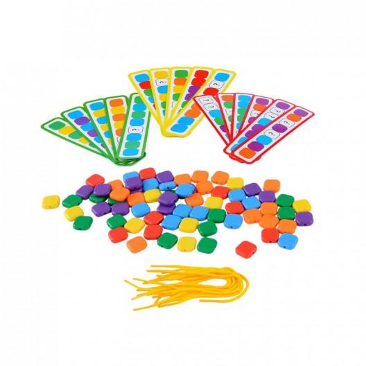 Cuentas de colores para enhebrar
