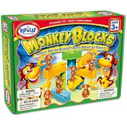 Monkey Blocks - juego de apilar