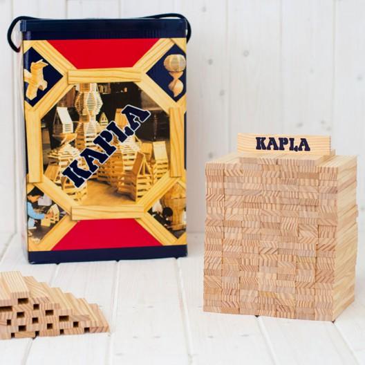KAPLA 200 peces - Plaques de construccions de fusta