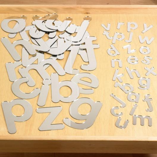 Lletres acríliques de mirall - minúscules