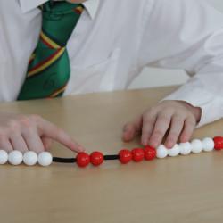 Cadena de 20 bolas para contar para el profesor