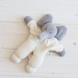 Muñeco Rüssel , elefante de algodón orgánico