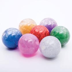 Set 7 bolas sensoriales con purpurina