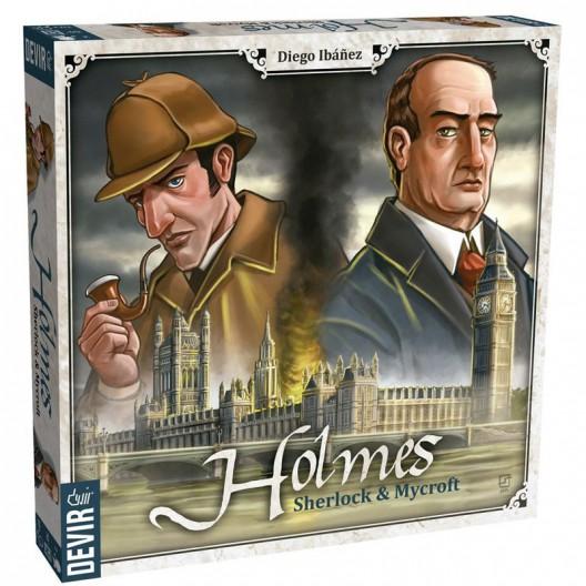 Holmes: Sherlock and Mycroft - juego de intriga e investigación para 2 jugadores