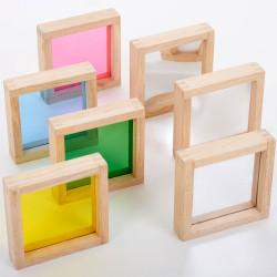Bloques Sensoriales cuadrados
