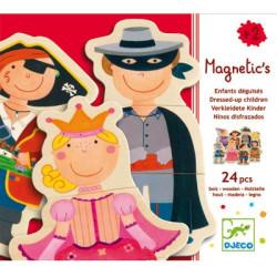 Juego magnético - Niños disfrazados