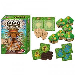 Cacao Xocolatl - expansión para el juego de estrategia para 2-4 jugadores
