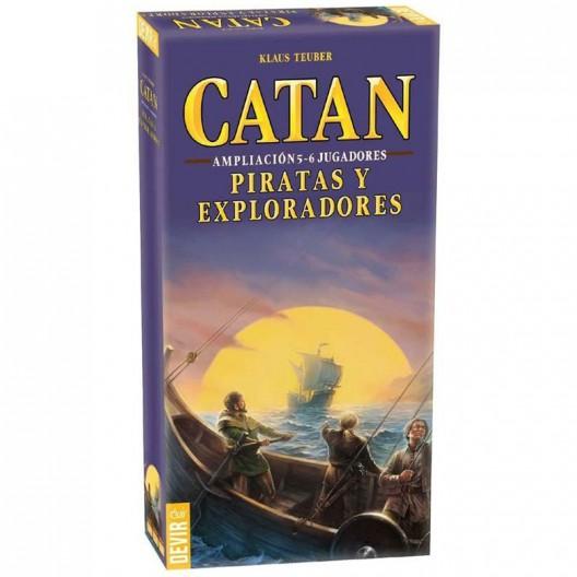 Expansión Catan Piratas y Exploradores - ampliación para 5-6 jugadores