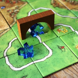 Carcassonne expansión Mercados y Puentes edición 2018 - Juego de estratégia