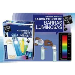 Laboratorio de barras luminosas - Equipo de experimentos