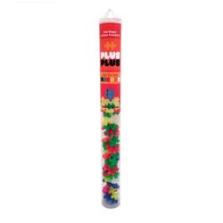 Plus-Plus Tubo Mini Neón 100 piezas - juguete de construcción