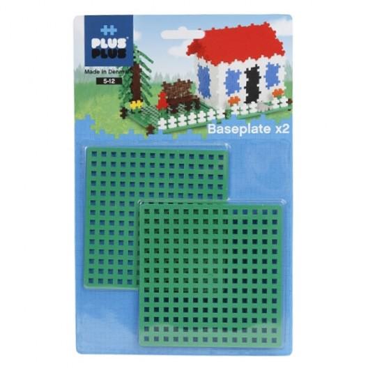 2 Bases 12x12 para Plus-Plus Mini - juguete de construcción