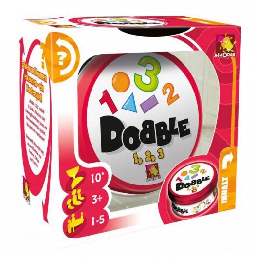 Dobble 1, 2, 3 - juego de cartas de atención