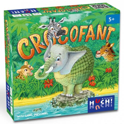 Crocofant - Joc memòria o reacció per a 2-4 jugadors