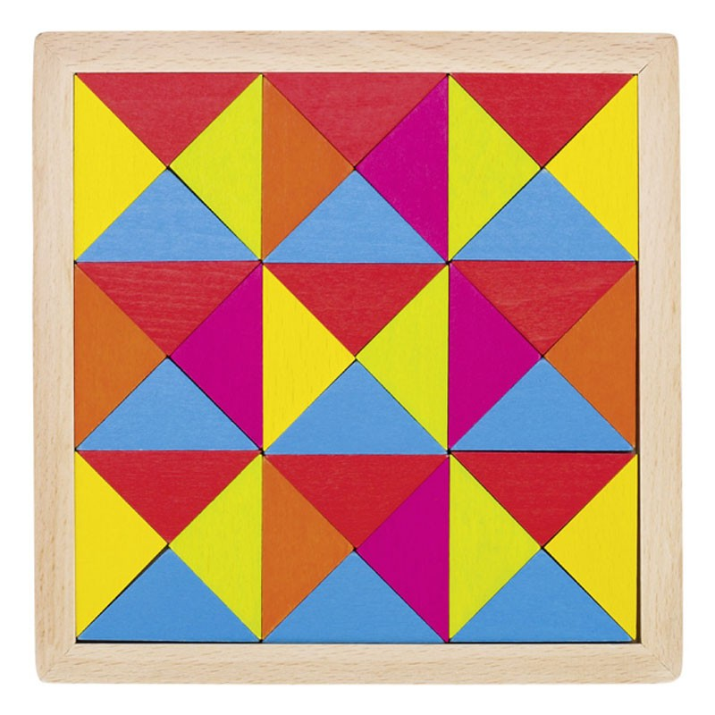 Puzle mosaico de madera arco iris ii - Mosaicos de colores ...