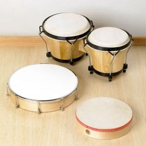 Bongos - instrumento musical de percusión