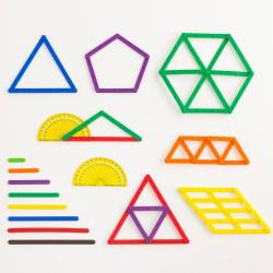 Geostix  - Juego de construcción y geometría con palitos