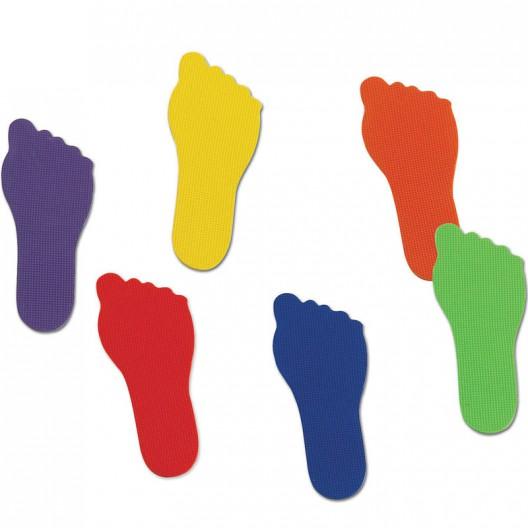 Marcas de pies - juego de motricidad