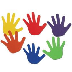 Marcas de manos - juego de motricidad