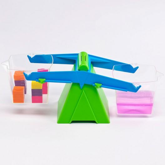 Balanza con cubos 1litro - instrumento de medida