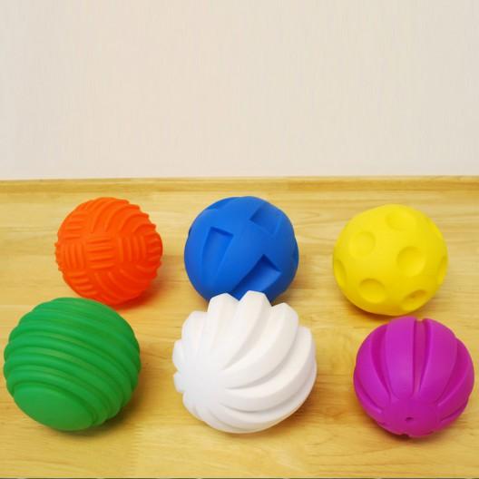 Set de Pelotas Sensoriales de Goma