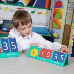 ¿Qué hora es? Flip Chart - 10u. set para el aula