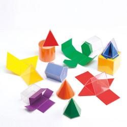12 Figuras Geométricas 2D y 3D para el aula