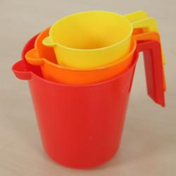 Set 3 jarras para juegos de agua y arena