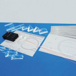 Set Óptico de luz LED con prismas y actividades