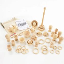 Set inicial de madera para el Juego Heurístico