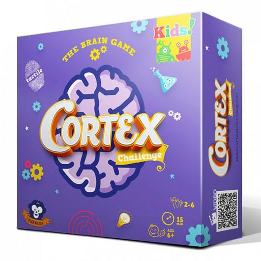 Cortex Challenge Kids 1 lila - Juego de cartas de habilidad mental y concentración