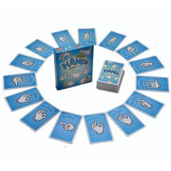 Manos ¡Arriba! - juego de cartas y gestos para 3-8 jugadores