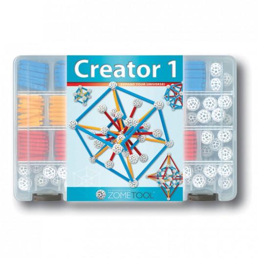 Zometool Creator 1 - Set de iniciación de 246 piezas