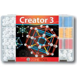 Zometool Creator 3 - Set avanzado, 798 piezas (nueva configuración)