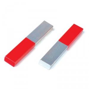 Set 2 Imanes de barra de acero cromado
