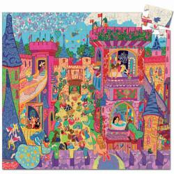 Puzzle silueta El Castillo de cuentos - 54 pzas.