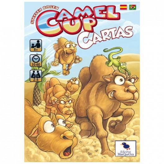 Camel Up Cartas - Juego de cartas para 2-6 jugadores