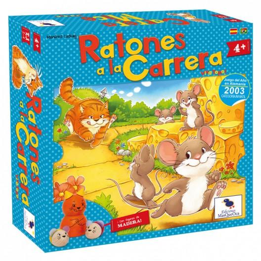 Ratolins a la Carrera - Joc de taula infantil per 2-4 jugadors