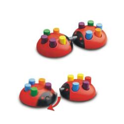 El Baile de Disfraces de las Mariquitas - Juego de mesa infantil para 2-6 jugadores