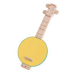 Banjolele - instrumento musical de madera