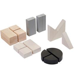 Bloques de Fracciones - juego educativo de madera